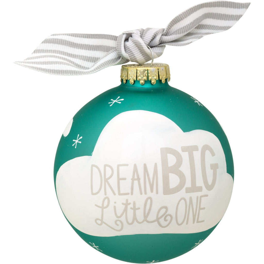 Inspirational Glass Christmas Ornament Collection