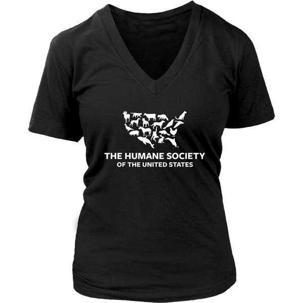 T-shirt - The Humane Society V-Neck