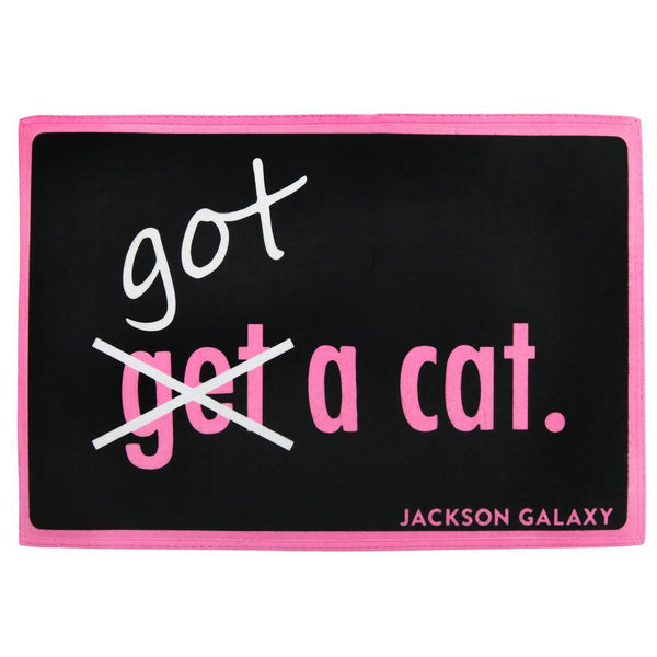 Jackson Galaxy Get A Cat Indoor/Outdoor Mat