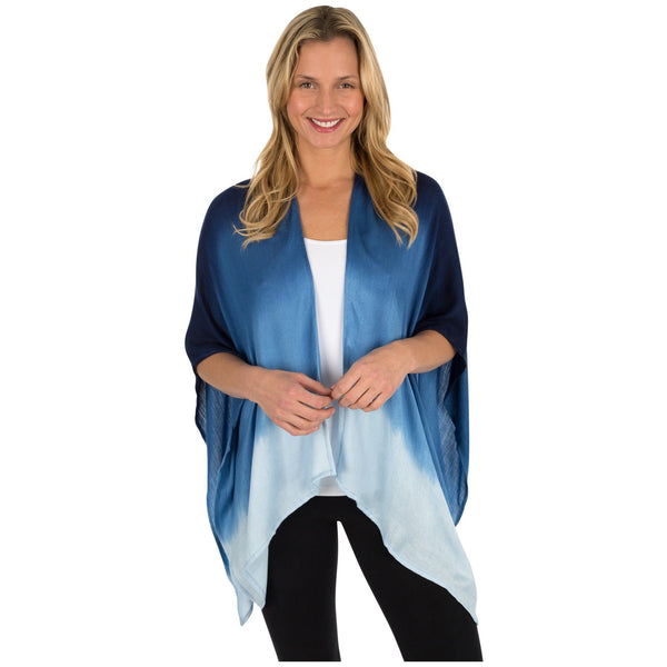Jewel Tone Ombre Wrap