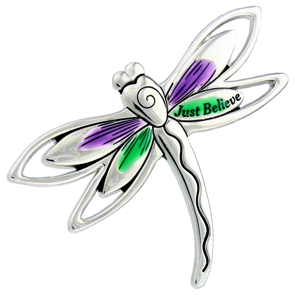 Just Believe Dragonfly Visor Clip