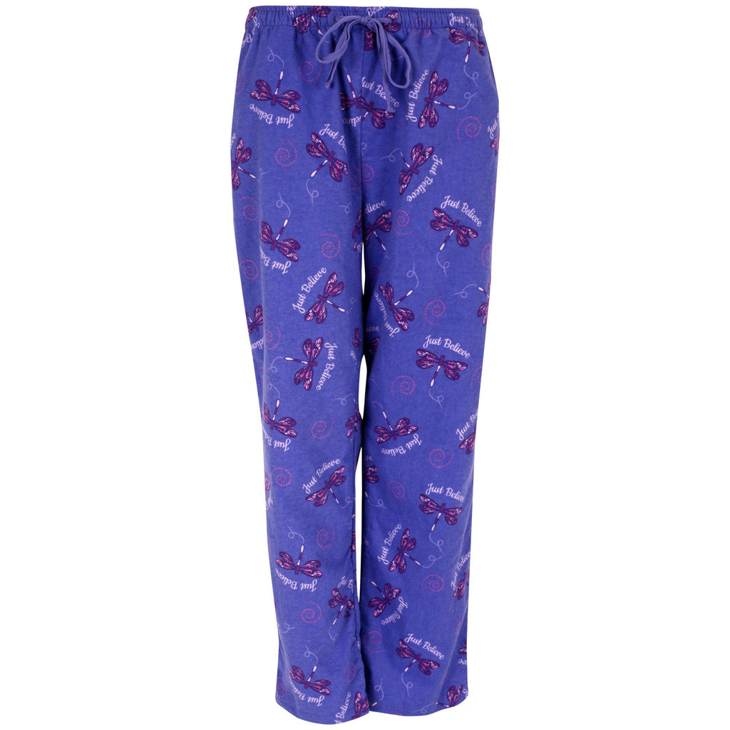 Just Believe Flannel Lounge Pants