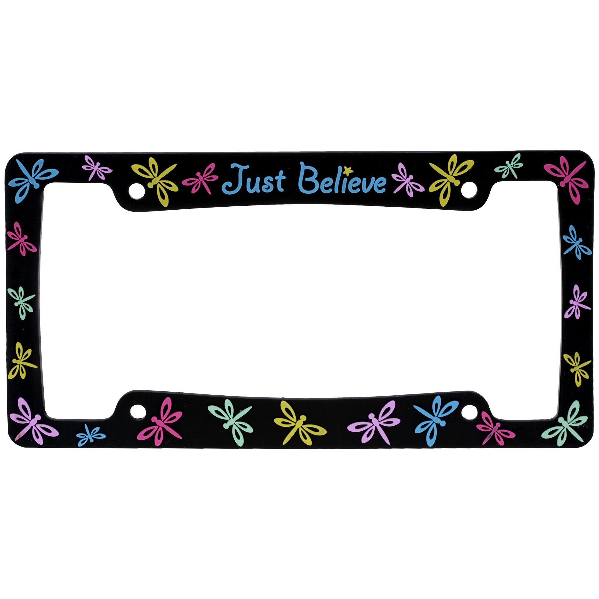 Just Believe™ License Plate Frame – GreaterGood