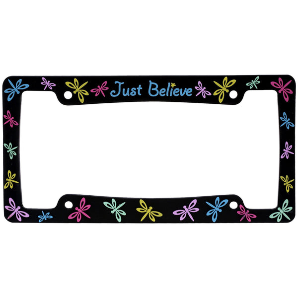 Just Believe™ License Plate Frame