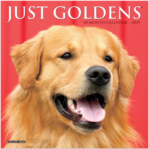 Just Goldens 2019 Mini Calendar