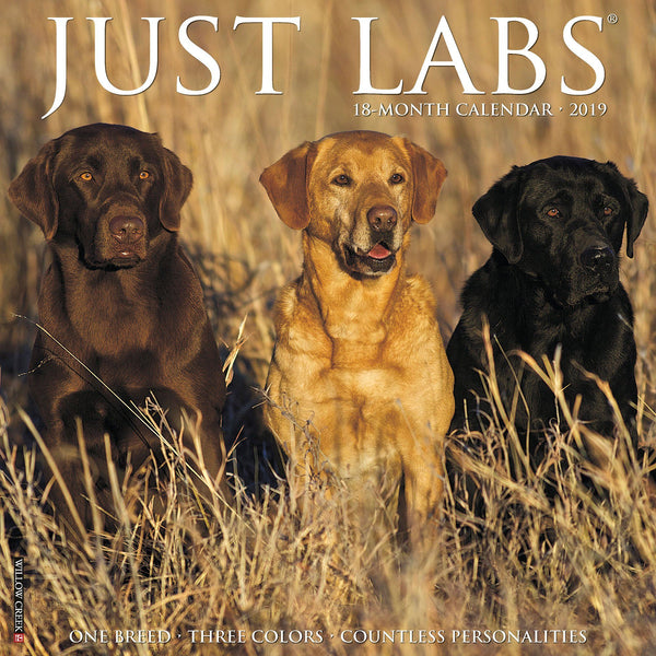 Just Labs 2019 Calendar Collection