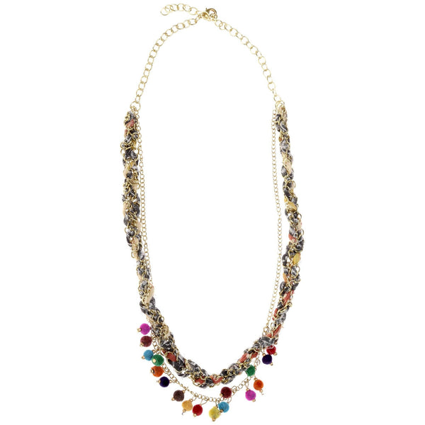 Kantha Carnival Necklace