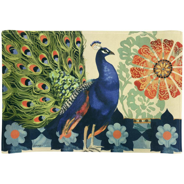 Kashmir Peacock Indoor/Outdoor Mat