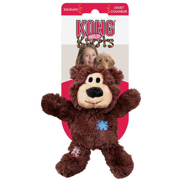 KONG® Wild Knots Bear Dog Toy