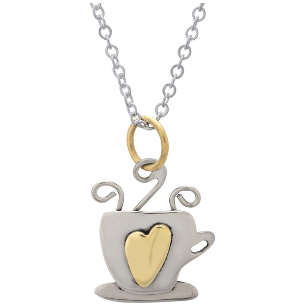 Latte Love Necklace