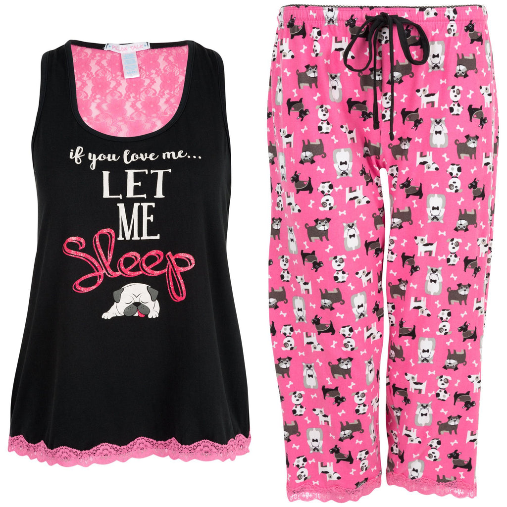 Let Me Sleep Pajama Set