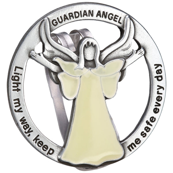 Light My Way Guardian Angel Visor Clip