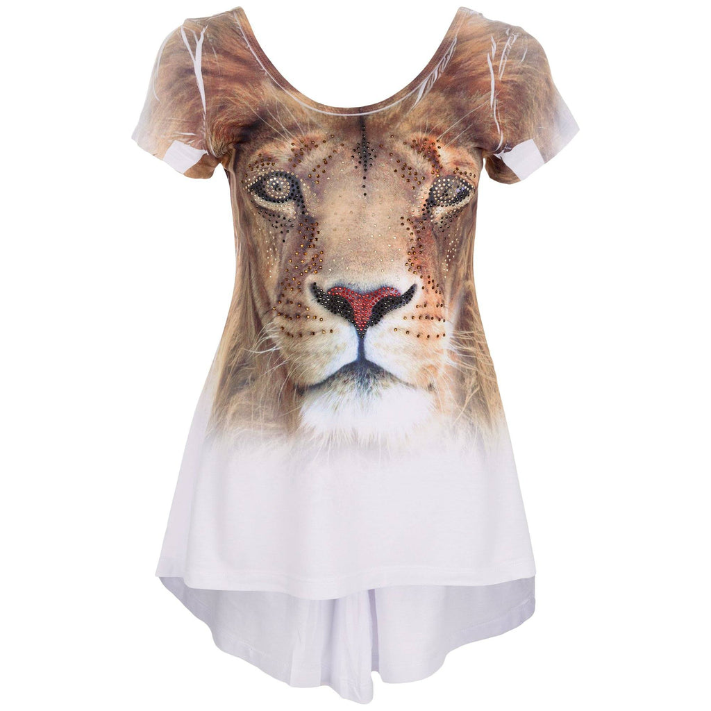 Lion High-Low Tunic