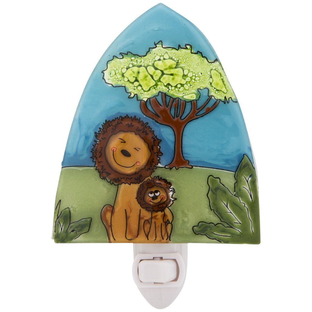Lion Love Recycled Glass Night Light