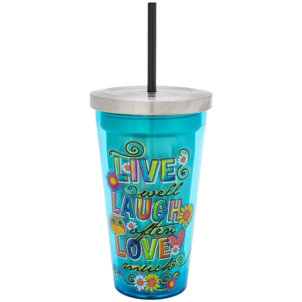 Live Laugh Love Insulated Travel Cup