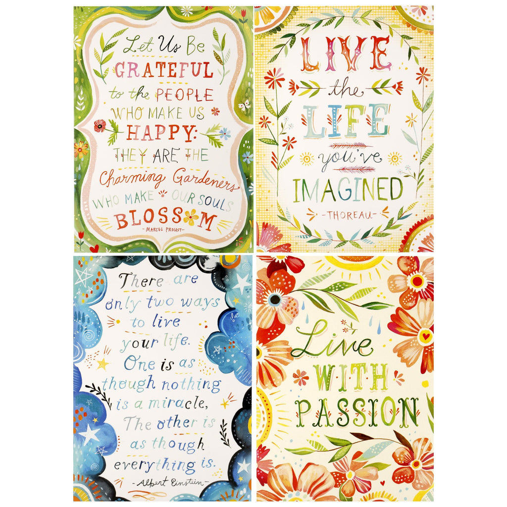 Live With Passion Notecards - Box Of 16