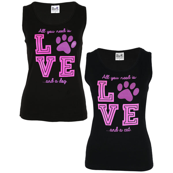 Love & A Pet Tank Top