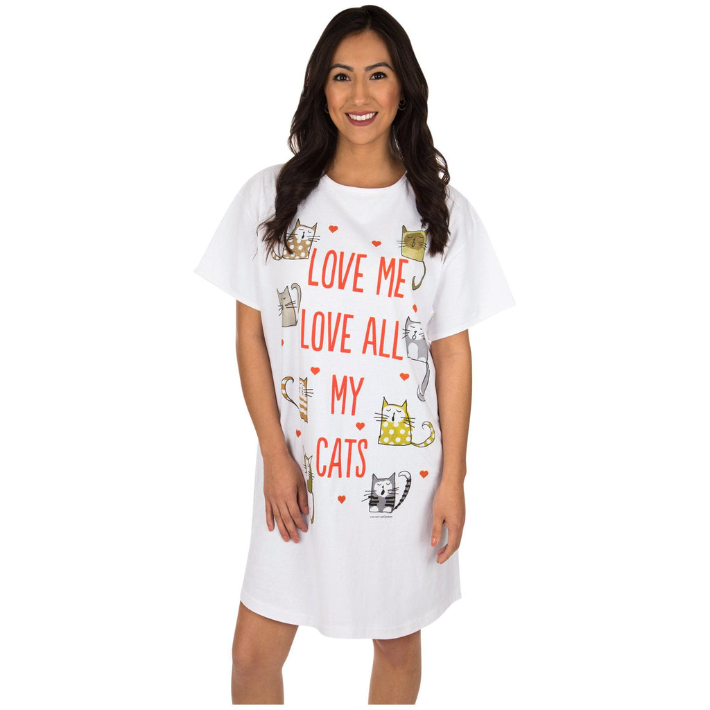 Love All My Cats Nightshirt