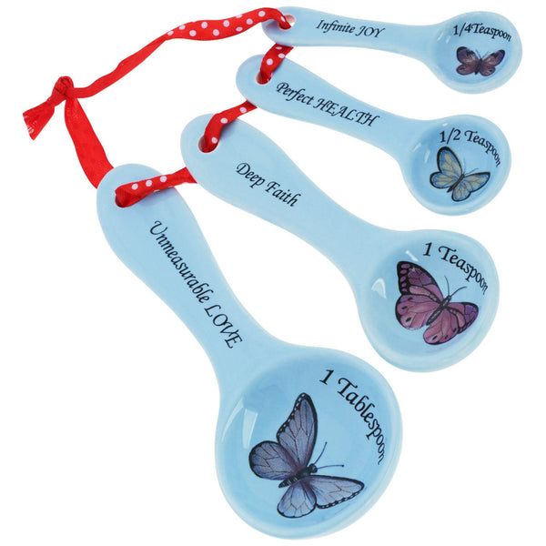 Love Beyond Measure Ceramic Measuring Spoons