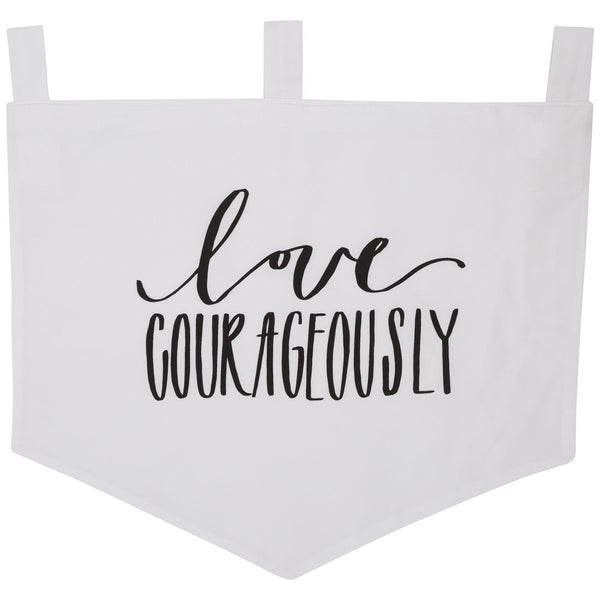 Love Courageously Banner