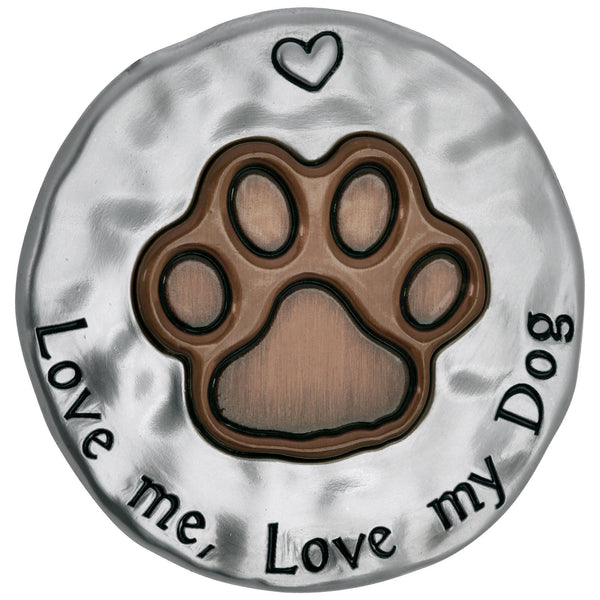 Love Me Love My Dog Visor Clip