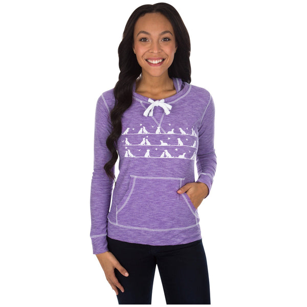 Love On The Line Lightweight Slub Pullover