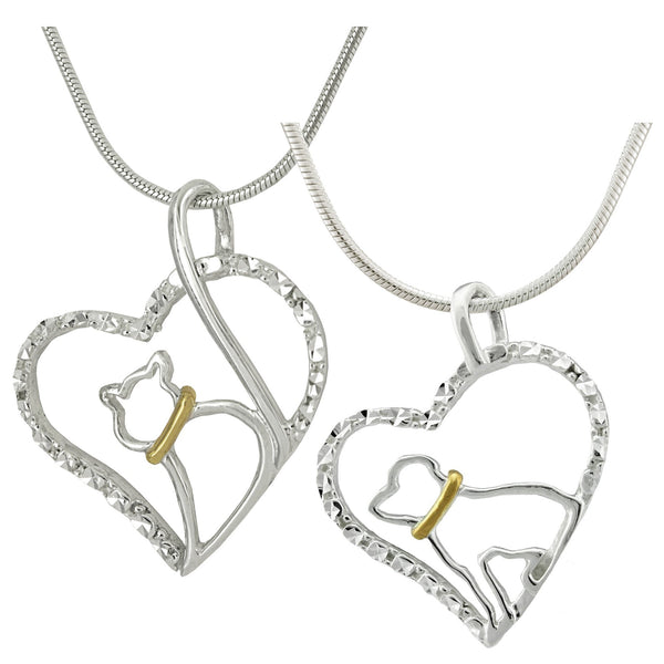 Love Pet Sterling Necklace