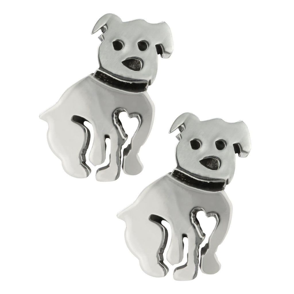 Love Pups Sterling Earrings