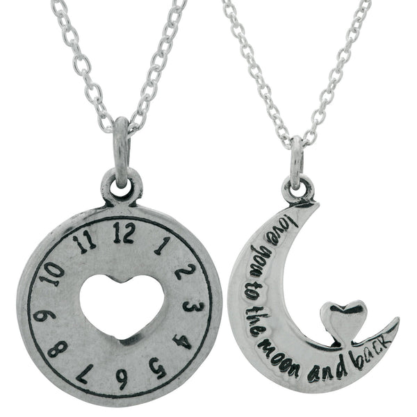 Love You Always Sterling Necklace