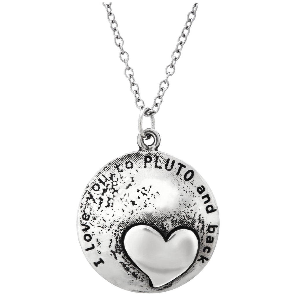 Love You To Pluto & Back Necklace