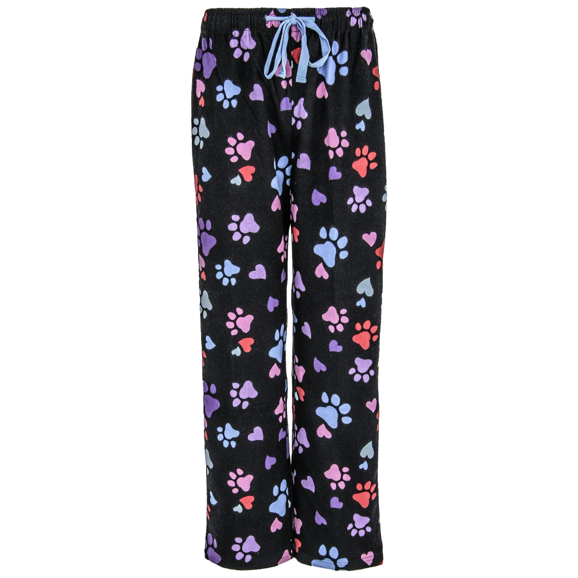 a24a5d7f21c Loving Paws Flannel Pajama Pants| The Animal Rescue Site