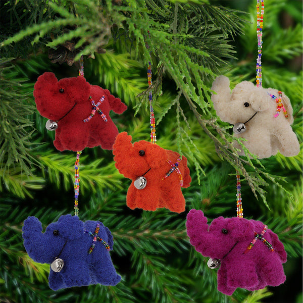 Lucky Little Elephant Ornament