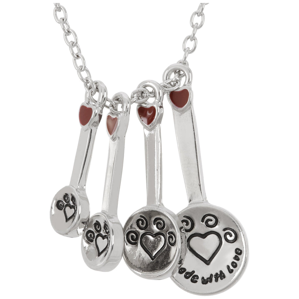 Made With Love Measuring Spoon Necklace