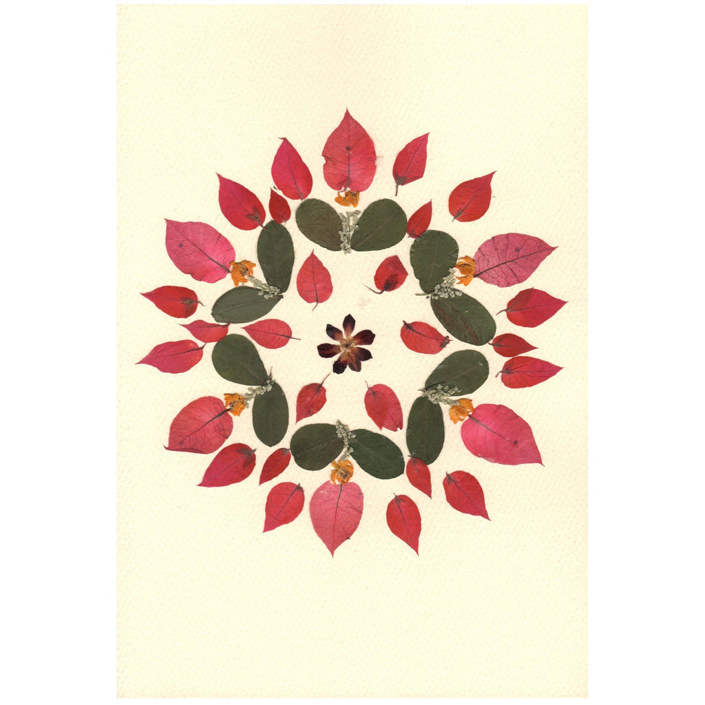 Mandala Flower Greeting Card