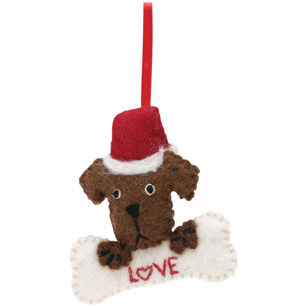 Marley Puppy Love Ornament