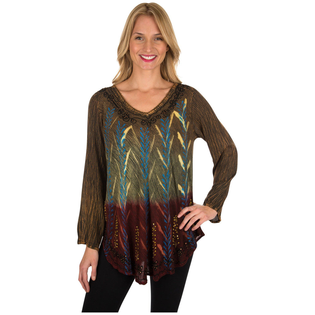 Masala Spice Long Sleeve Tunic
