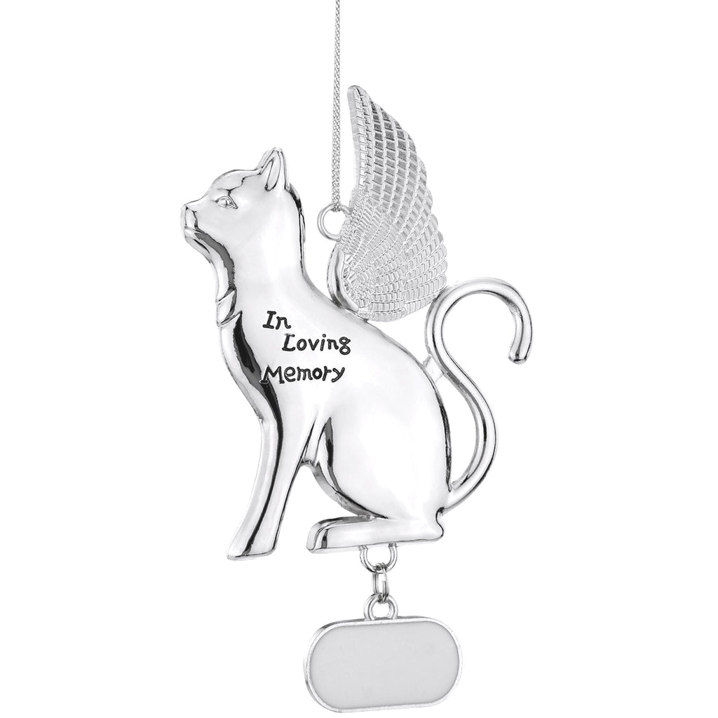 Memorial Pet Silhouette Ornament