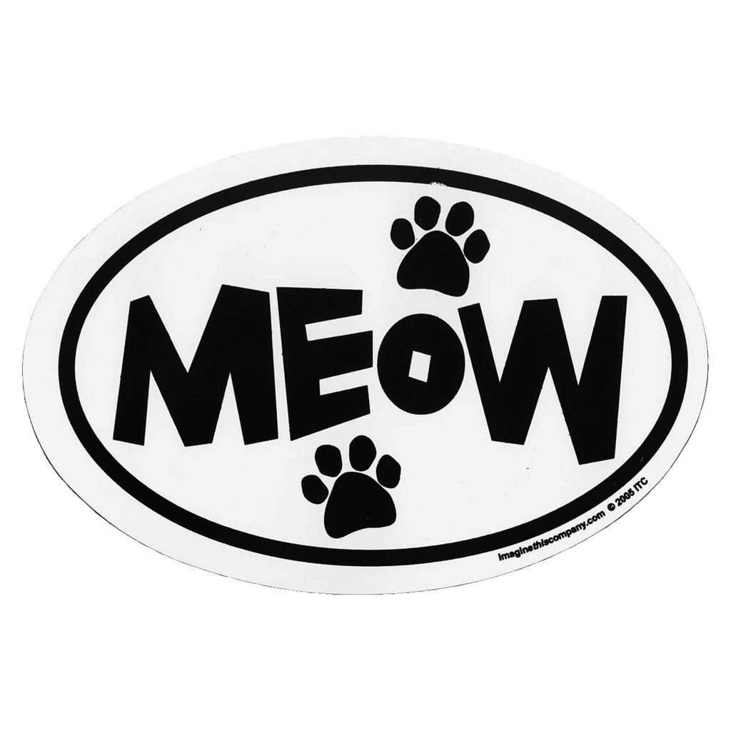 Meow Car Magnet