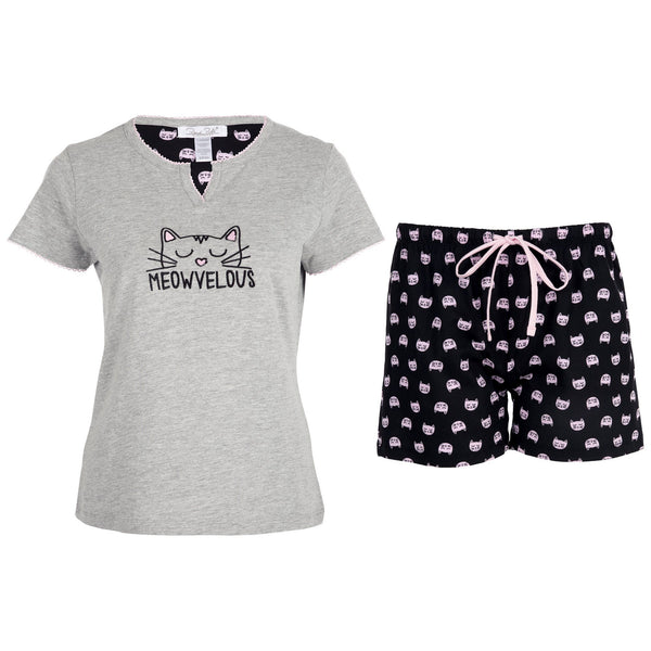 Meowvelous Pajama Shorts Set