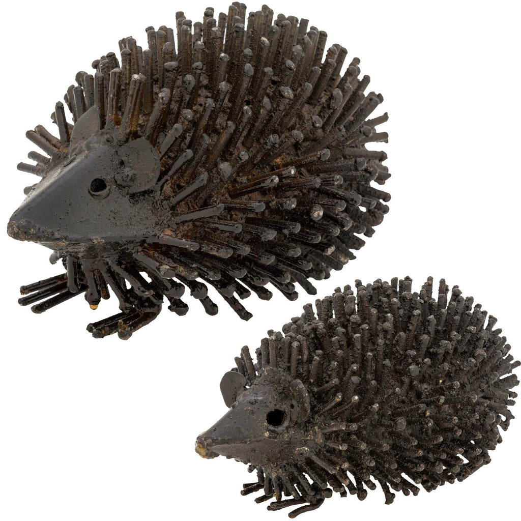 Metal Hedgehog Sculpture