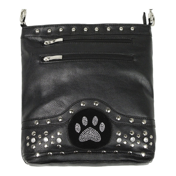 Midnight Bling Paw Purse
