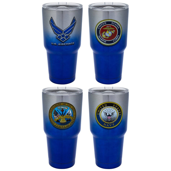 Military Stainless Steel Travel Mug
