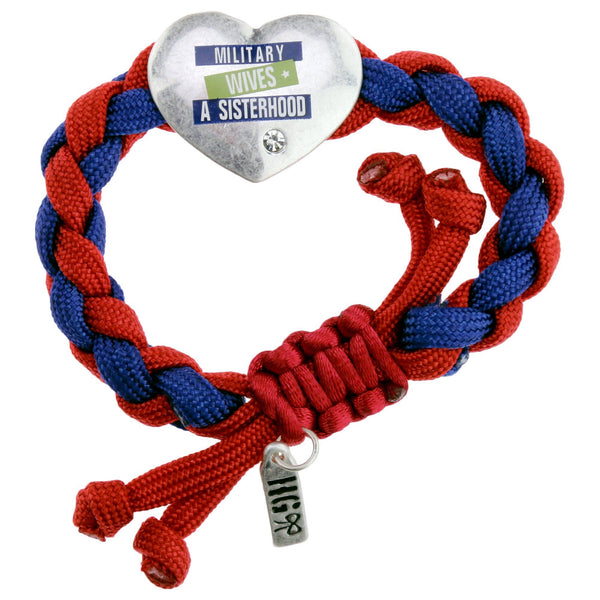 Military Wives Paracord Bracelet