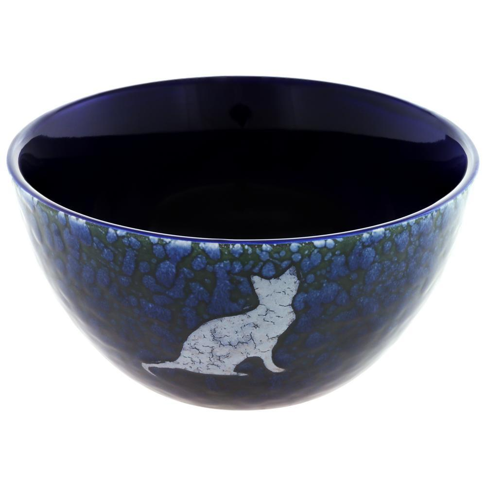 Moonlit Pet Soup Bowl & Lid