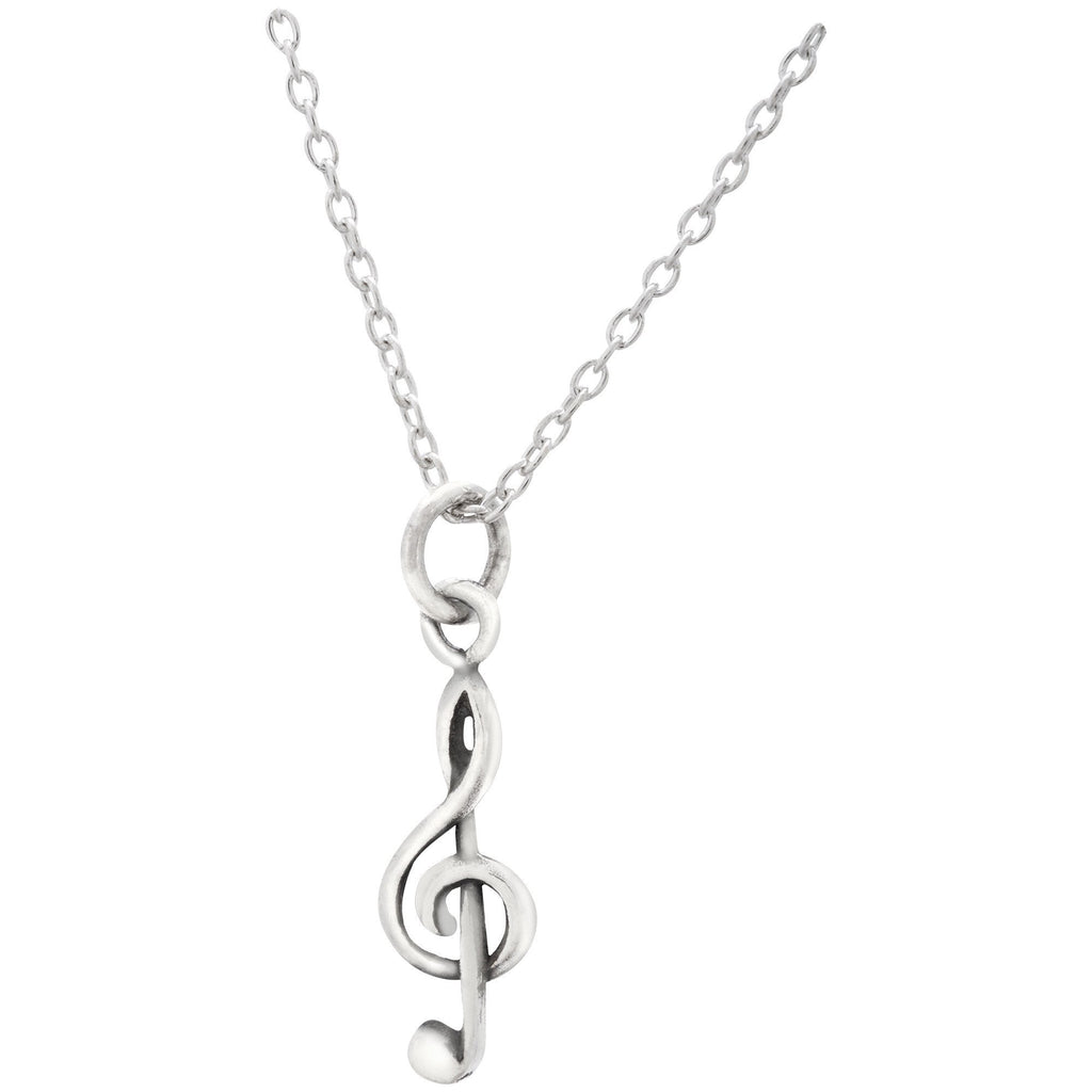 Music Is Life Sterling Necklace
