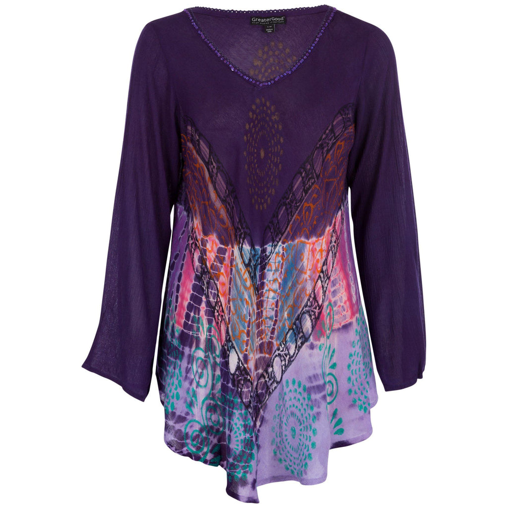 Mystic Charm Long Sleeve Tunic