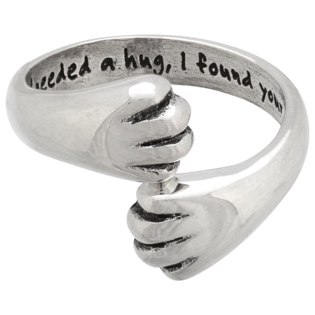 Needed A Hug Sterling Ring