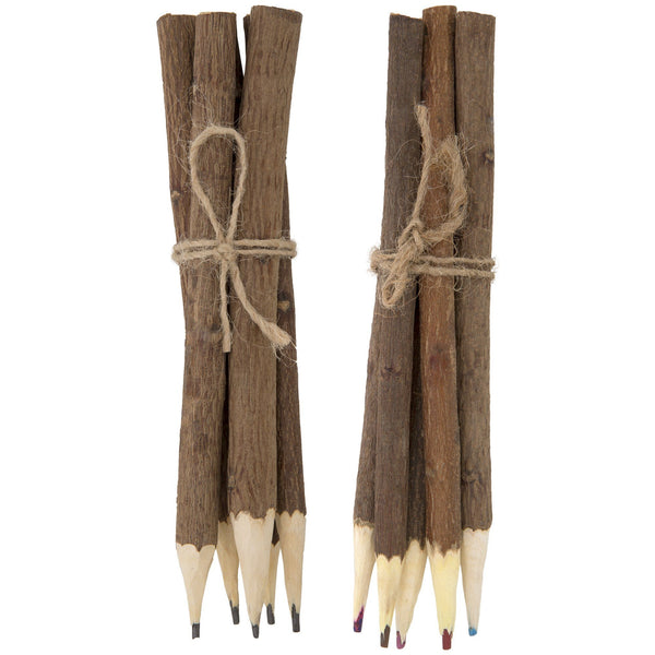 Neem Wood Pencils - Set Of 5