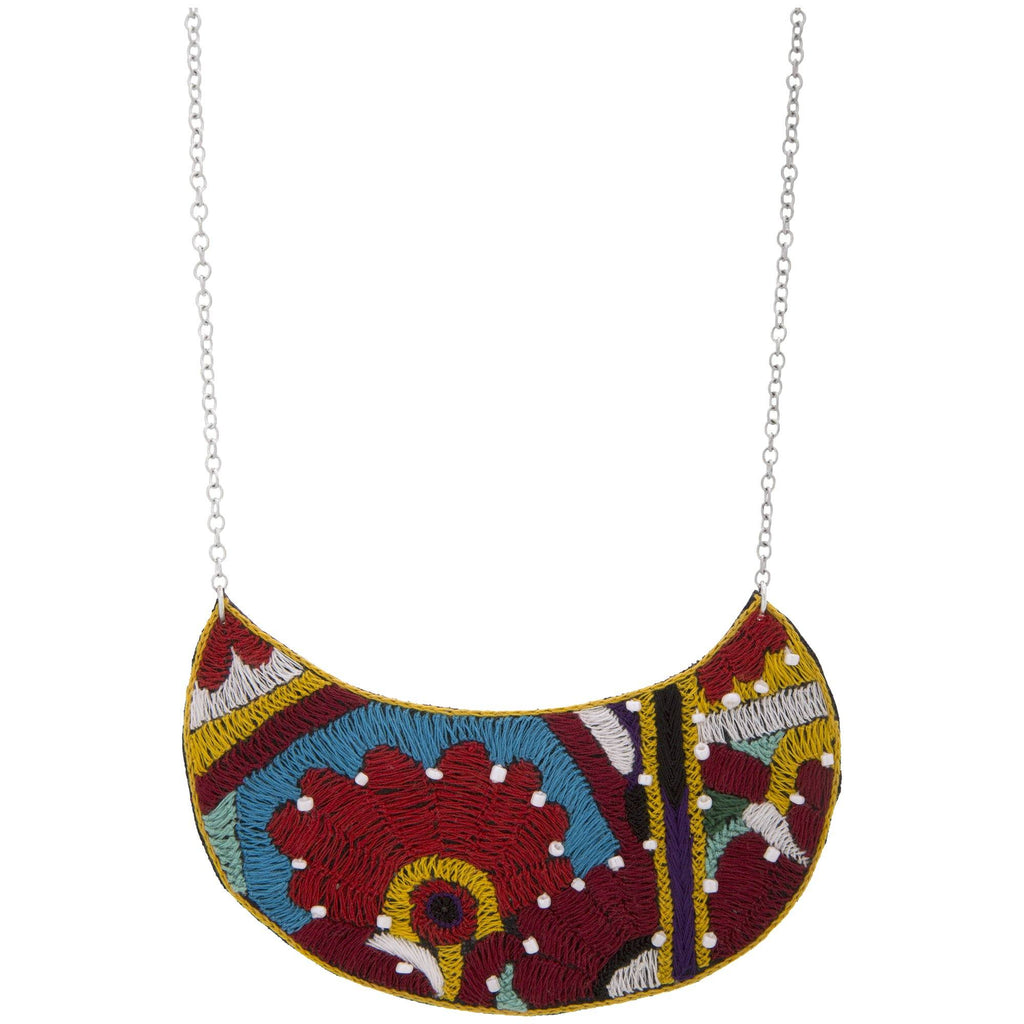 Nomad Heritage Crescent Necklace