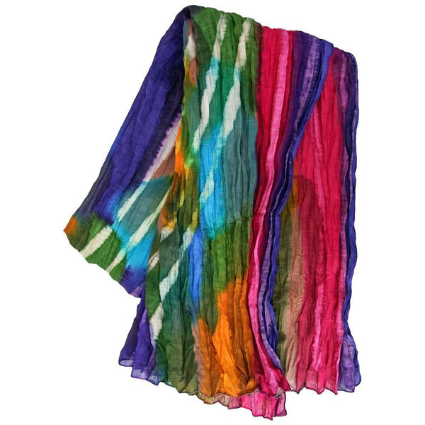 Northern Lights Cotton Scarf